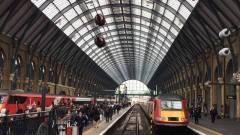 ロンドンの駅