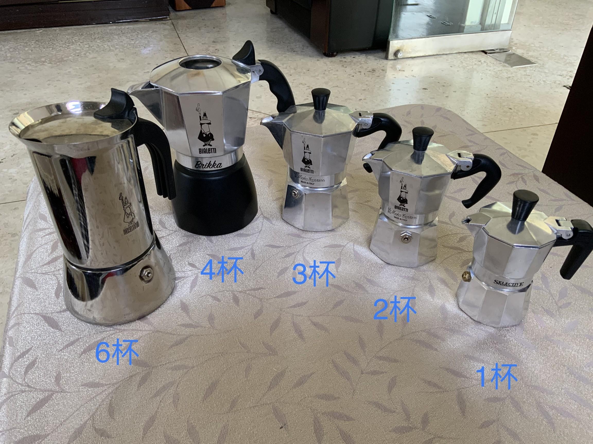 不藏私沖煮咖啡 Bialetti 摩卡壼