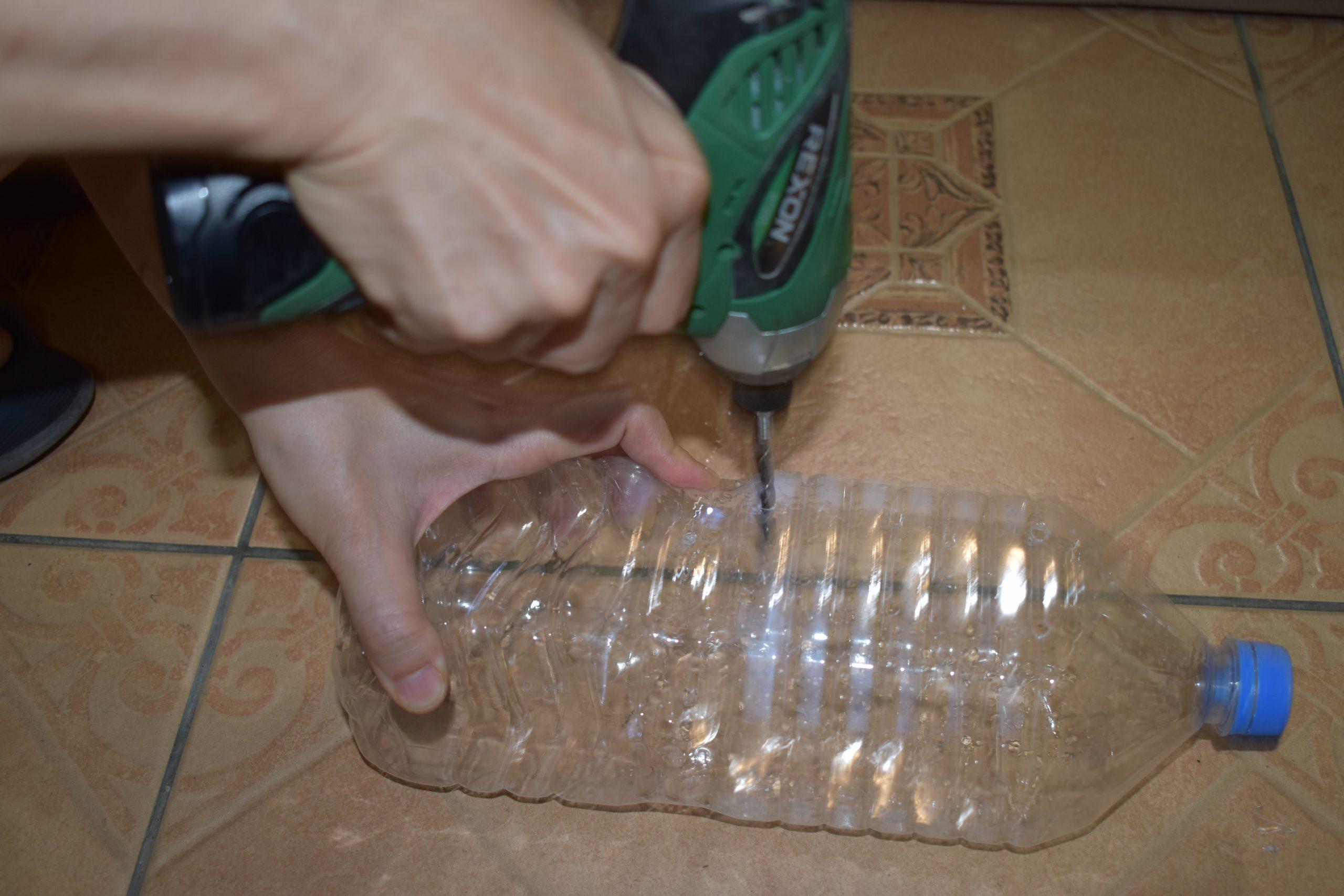 環保愛地球寶特瓶回收 種菜日記 青蔥