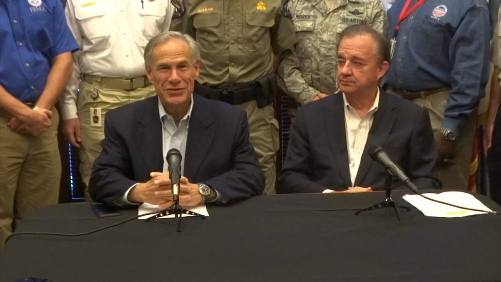 Governor Abbott appoints John Sharp to lead Hurricane Harvey recovery effort