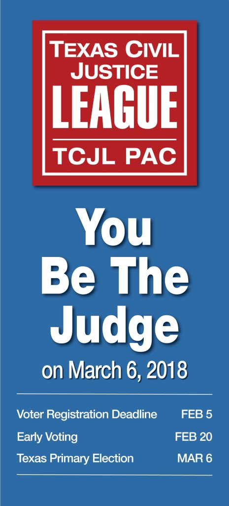 Texas Civil Justice League | Political Action Committee
