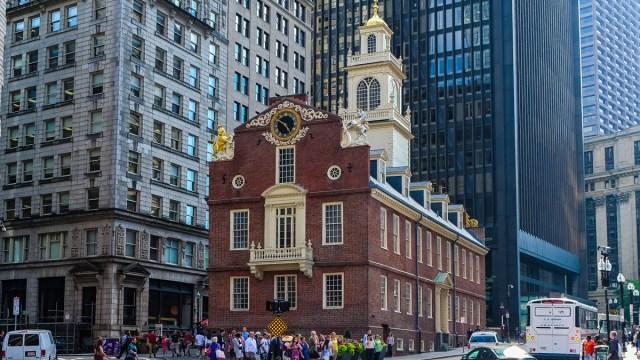 Resultado de imagen de old state house boston
