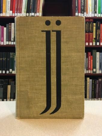 James Joyce's Ulysses. Designed by Reichl in 1934