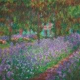 Claude Monet. Le jardin de l'artiste à Giverny, 1900