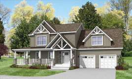 Traditional 2 Story Modular Houses  Home Plans  Norfolk Virginia THE HENDERSON