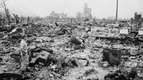 But we also see images of actual destruction. © 1959 – Rialto Pictures. All Rights Reserved.