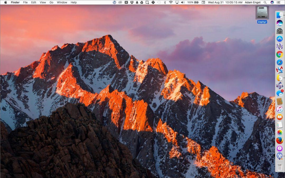 What's Hot in macOS 10.12 Sierra