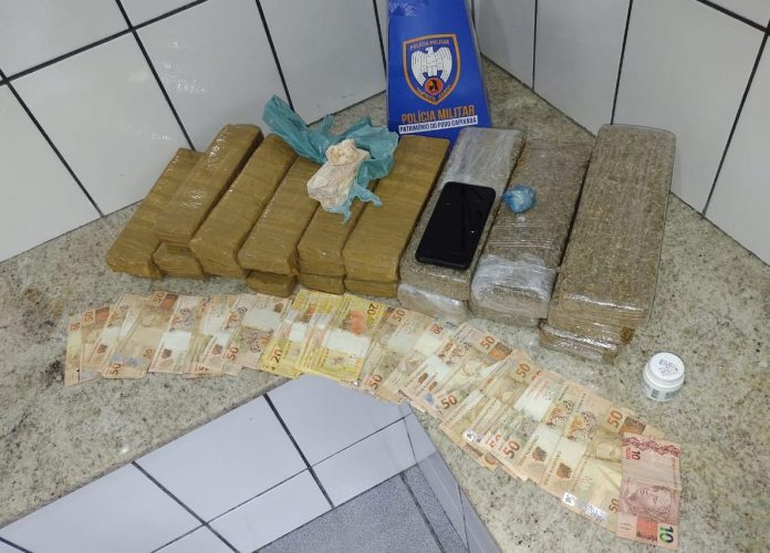 Polícia encontra 24 tabletes de maconha em casa de Boa Esperança - TC Online