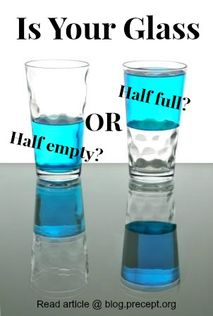 Positive Thinking: Half Full or Empty, Roses or Thorns?