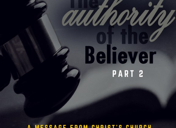The Authority of the Believer Part 2