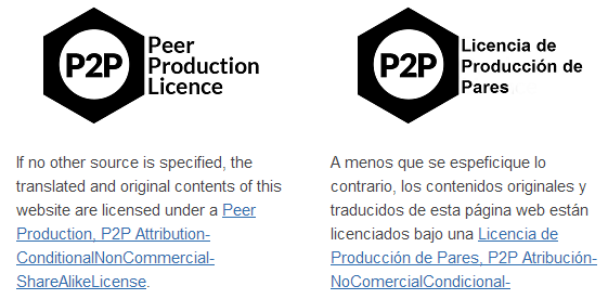 Peer Production License.