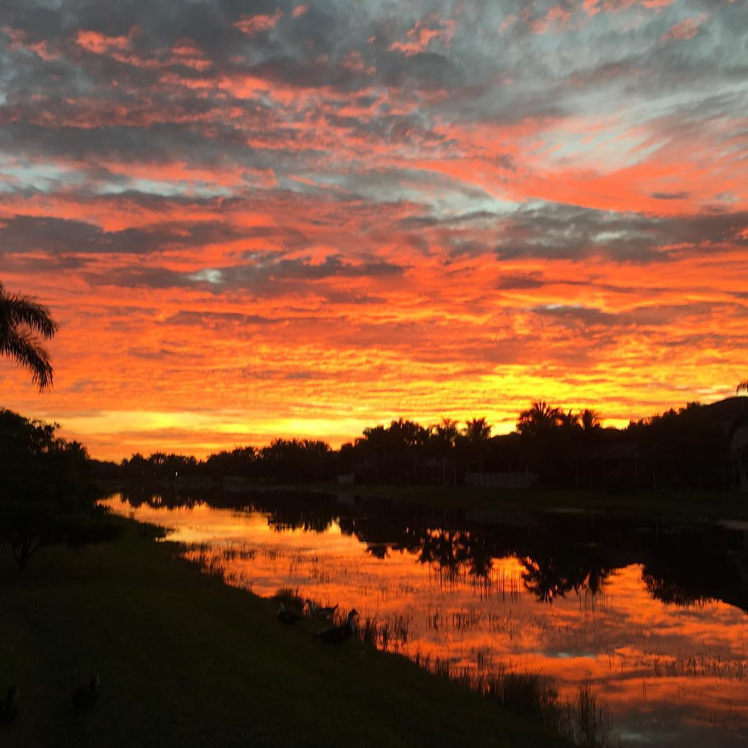 Sunrise in Florida