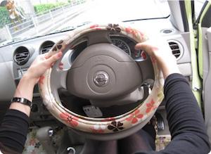 車 ハンドルカバー 付け方、4