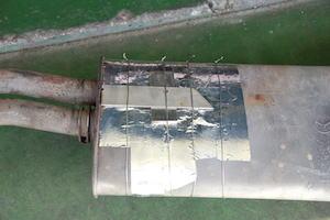 車 マフラー 修理 方法 自分 12