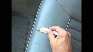 車 シート 革 補修 方法 3