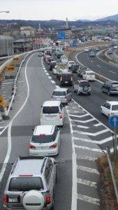 自然渋滞 原因  1