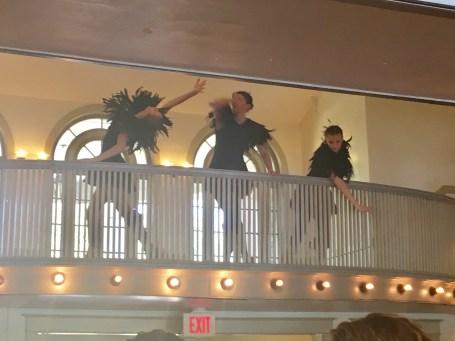 Repertory company dancers
