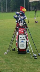 2015 William Hinson golf bag