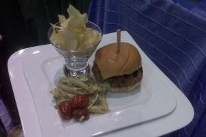 Hamburger plate - Hamburger plate
