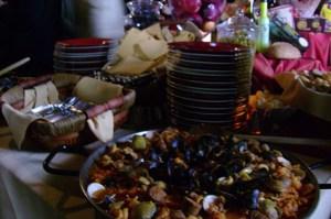 Table arrangement - Table arrangement