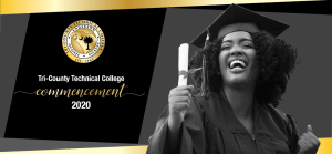 Tri-County Technical College Commencement 2020