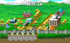 Civilization EGA in-game