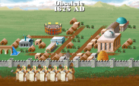Civilization VGA in-game