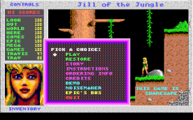 Jill of the Jungle VGA title