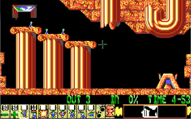 Lemmings EGA level 2