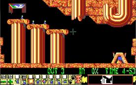 Lemmings EGA level 2