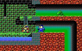 Mega Man III EGA in-game