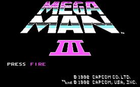 Mega Man III CGA title