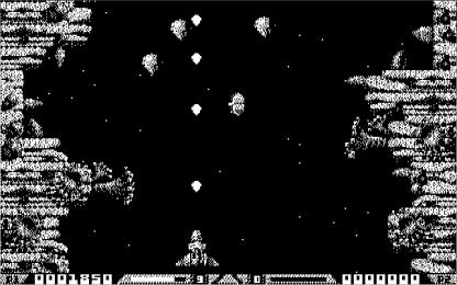 Xenon 2 CGA in-game