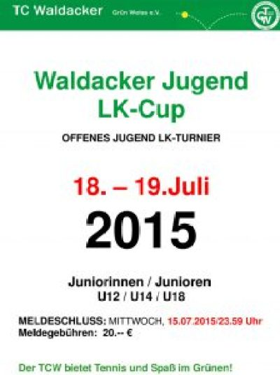 Plakat-Grün-Weiss-Cup-2015