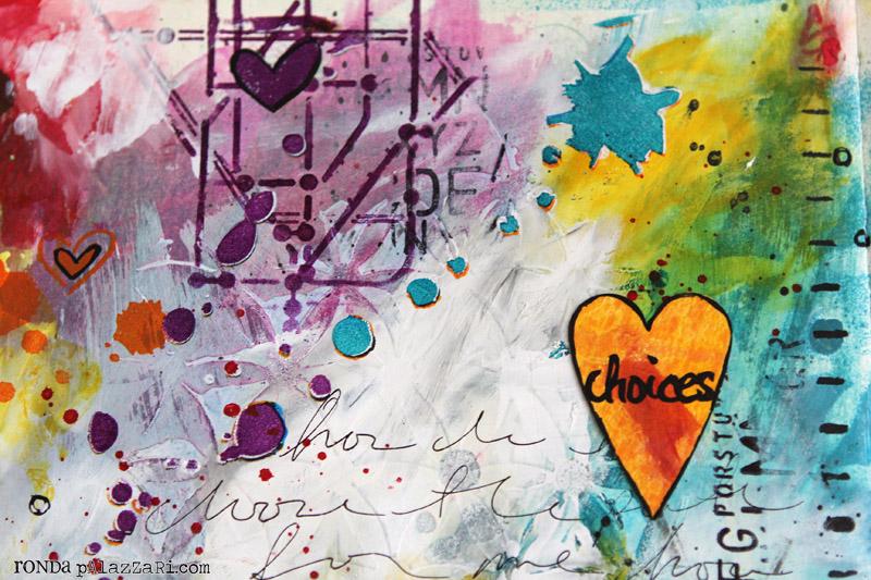Ronda Palazzari Choices Art Journal details