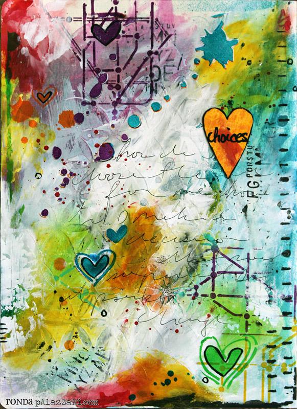 Ronda Palazzari Choices Art Journal