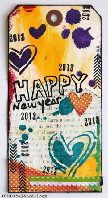 Ronda Palazzari Happy New Years Tag