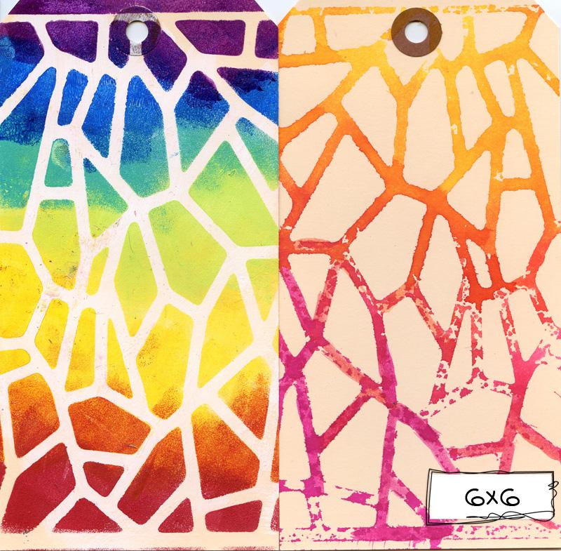Ronda Palazzari Giraffe Print 6x6