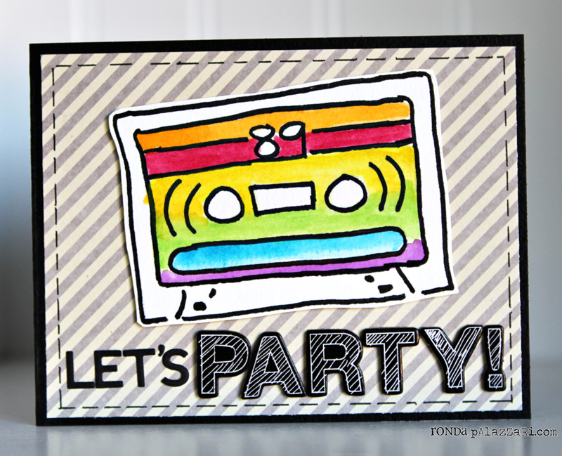 Ronda Palazzari Let's Party Card