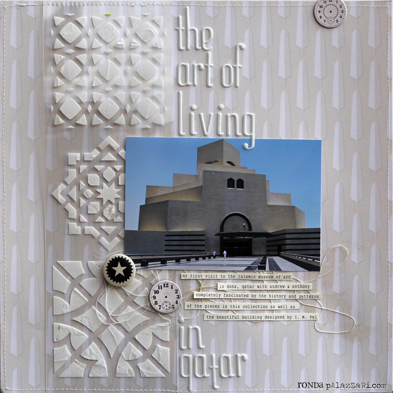 Ronda Palazzari The art of living