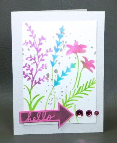 Wildflowers Mini-Word Arrows Mini-Texturized-Radiant Neons Inkpads-Delicata Inkpad-Jean Okimoto