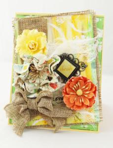 Cherish Card The Crafter's Workshop Karen Jiles II