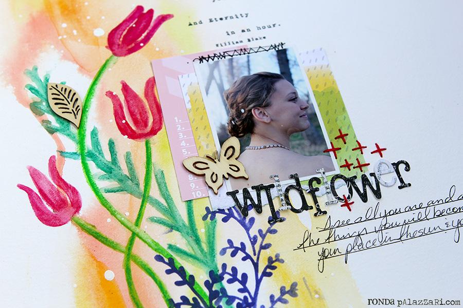 Ronda Palazzari Wildflower details