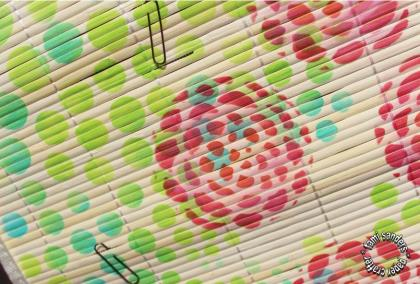 bamboo mat memo board - tcw,the crafter's workshop,stencils,inking stencils,room decor,home decor,teen decor, $1 project,inking stencils, tami sanders - wm 2