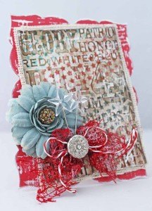 Red White & Blue Card The Crafter's Workshop Karen Jiles A (2)