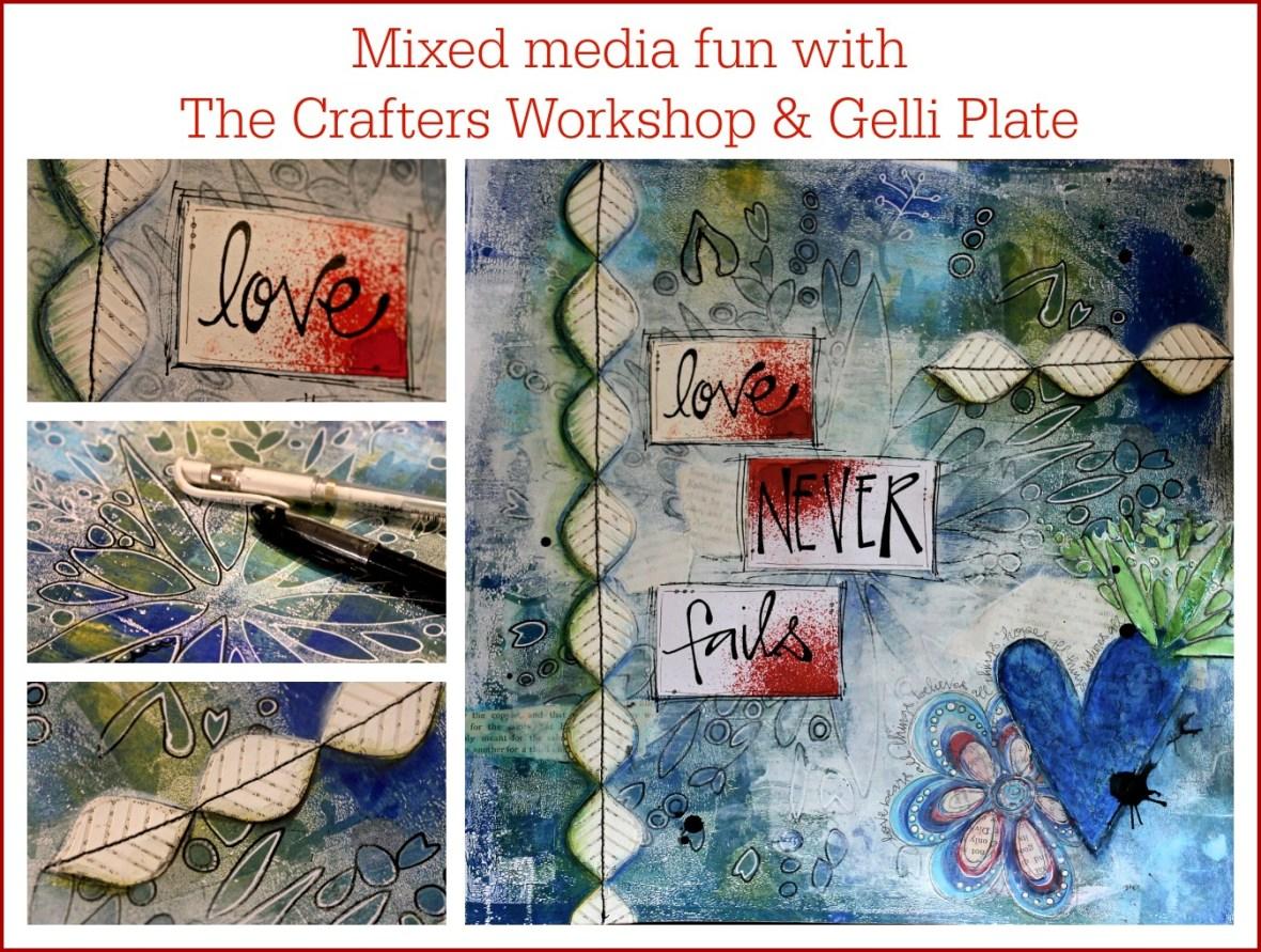 Framed Mixed Media by Sue Carroll