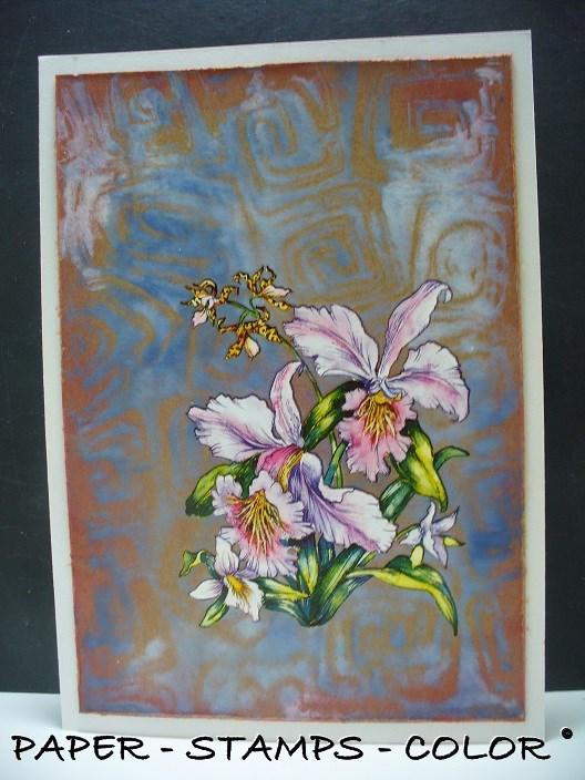 blauwbruin monoprint collage (1)