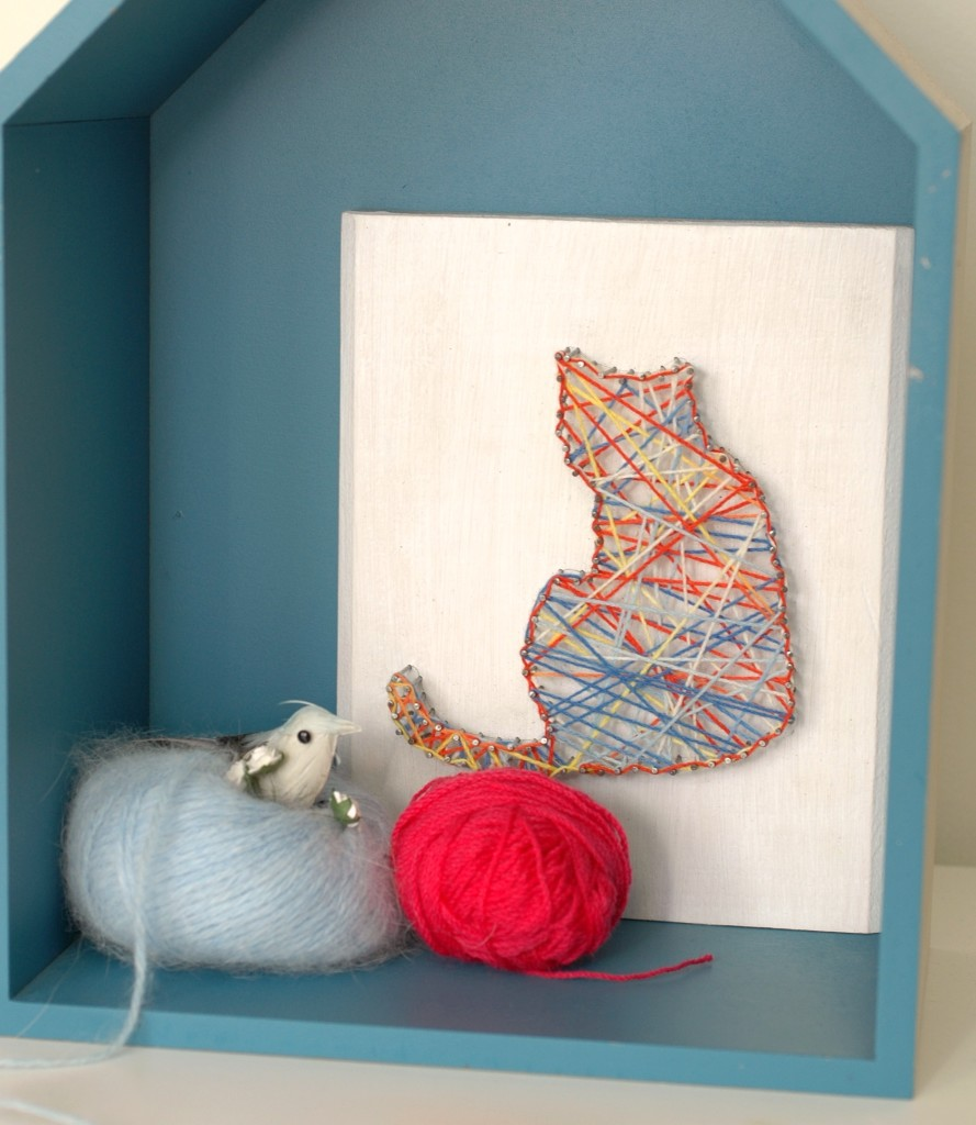 TCW string art cat
