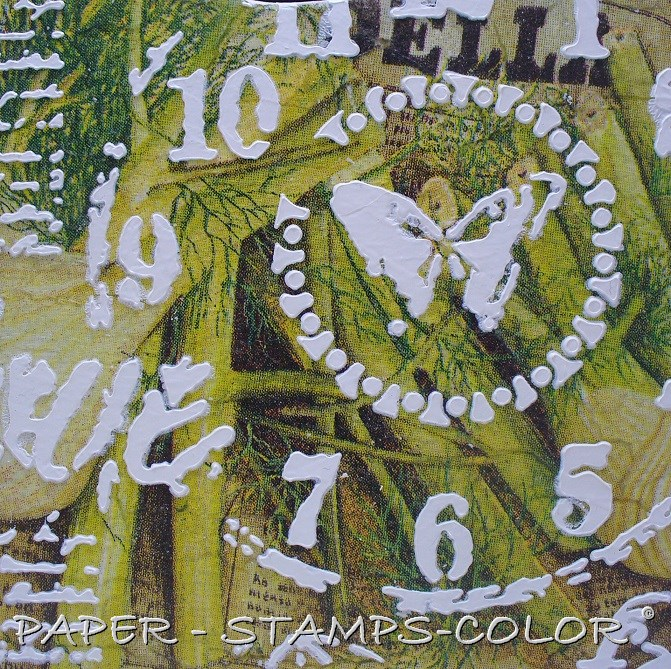 TCW tutorial greenyellow puzzle collage square