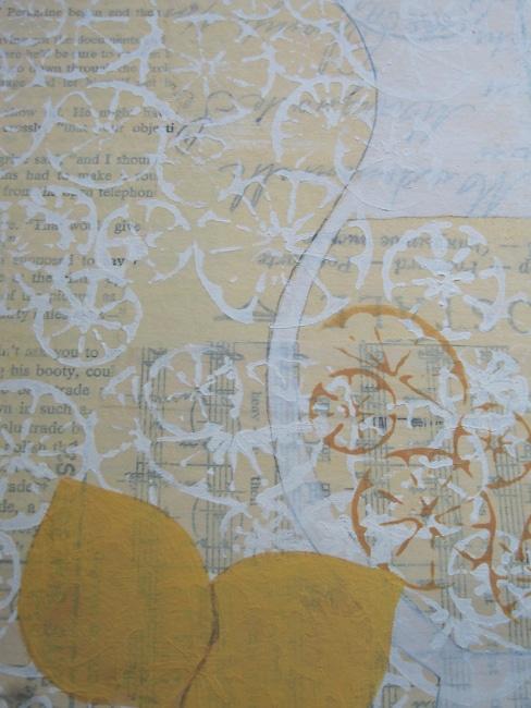 Lefko painted lemons on art journal lemonade page